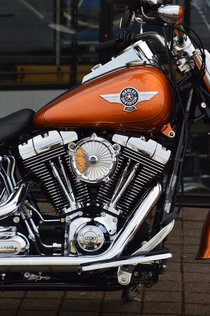 CSC LUFTFILTER BIG SPOKE CHROME FÜR HARLEY-DAVIDSON SOFTAIL AB 2016 (E-GAS) EURO3